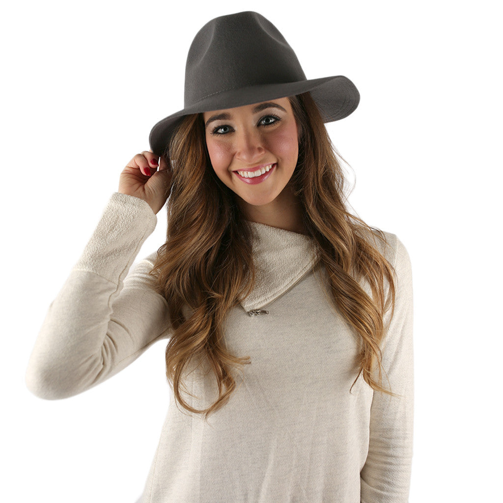 Fashion Week Hat in Grey
