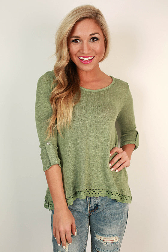 Smiling in the Sun Sweater