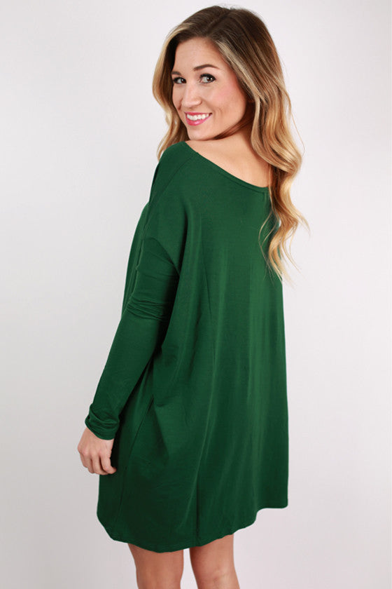 PIKO Tunic in Forest Green