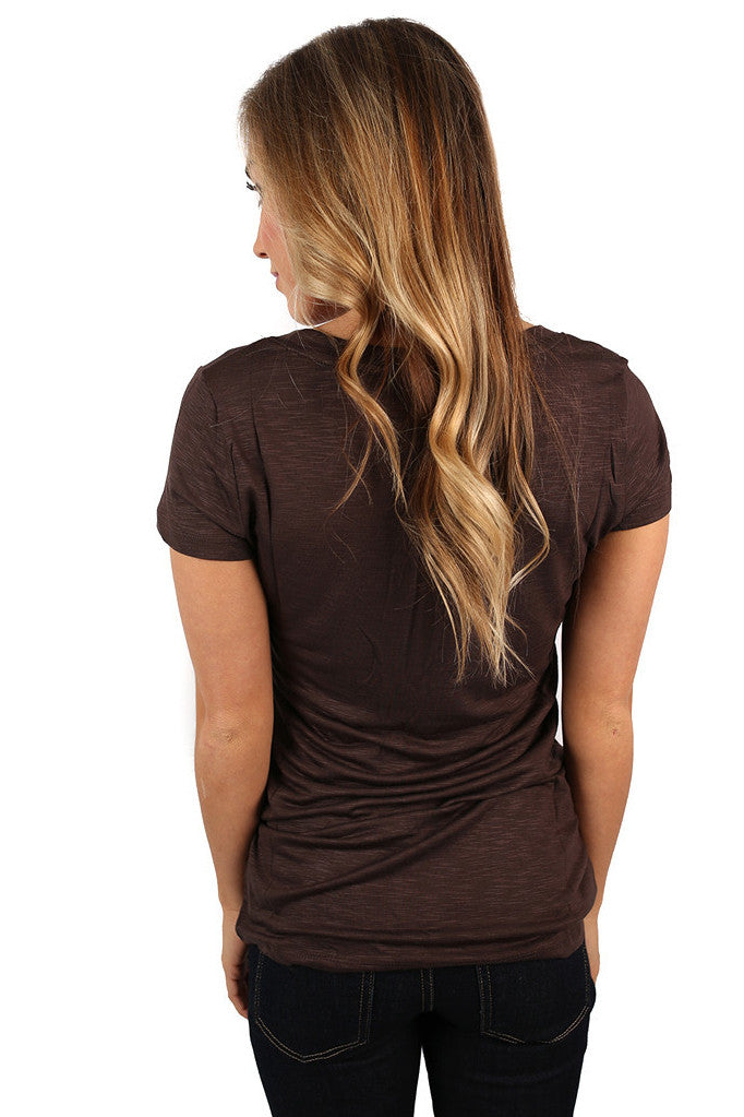 Divine Perfection Tee Brown