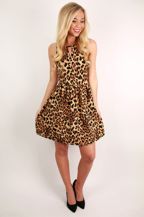 Leopard Lovely Dress