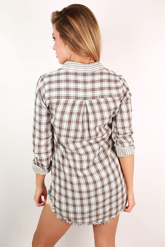 Adventure Tunic in Mocha