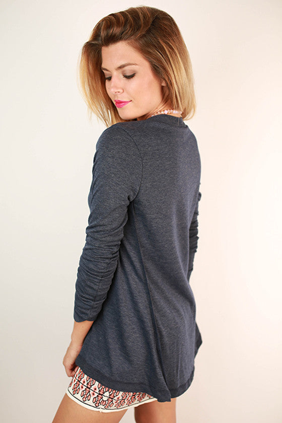Rae Tunic in Navy