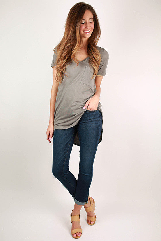Dark Denim Ankle Skinny