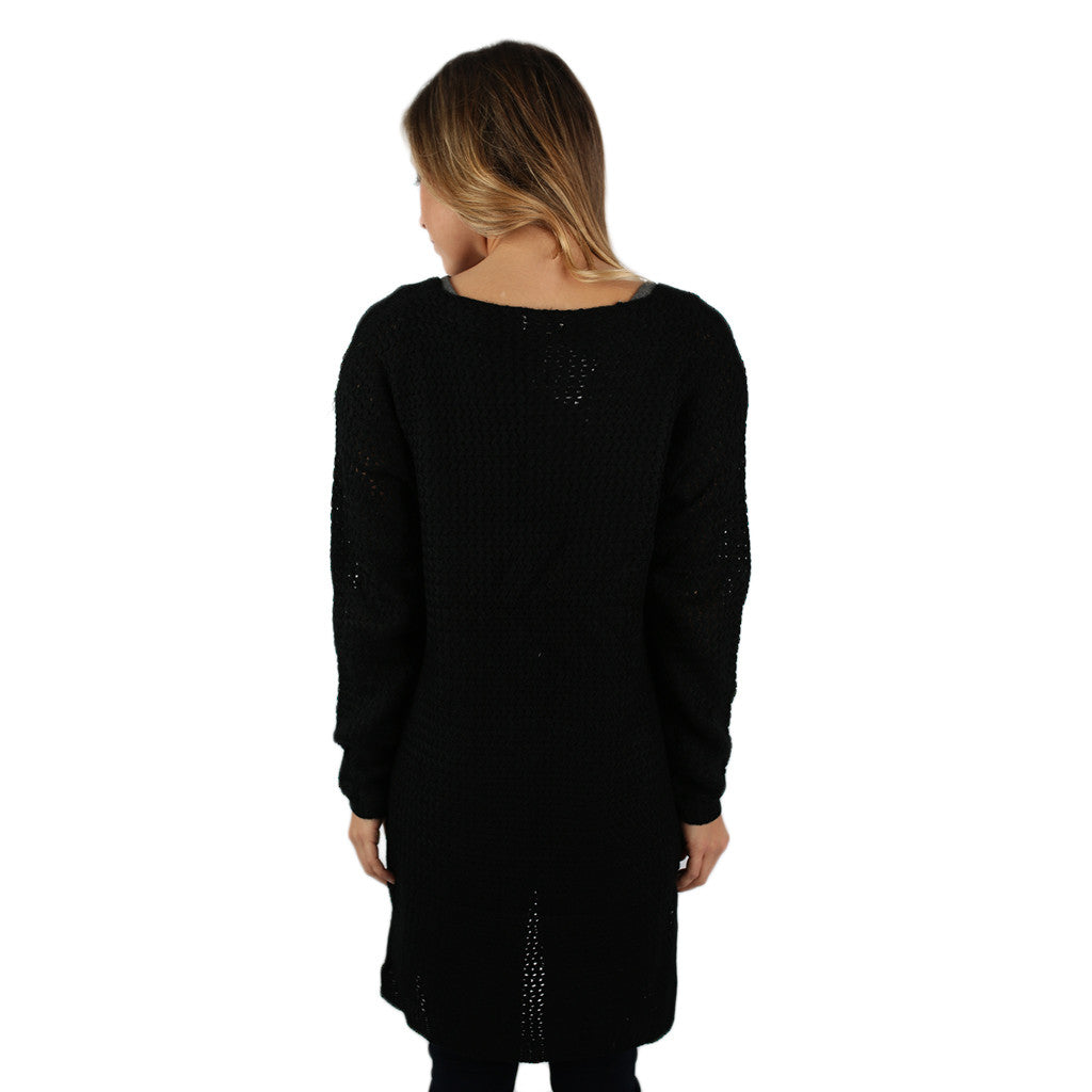 In the Valley Cardi Black