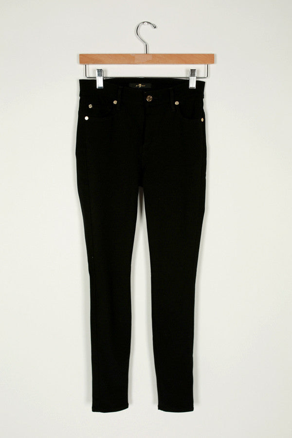 The Second Skin Slim Illusion Skinny in Elasticity Black
