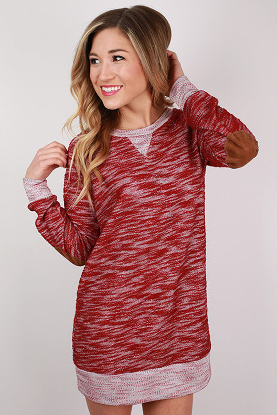 My Favorite Season Tunic Dress in Red