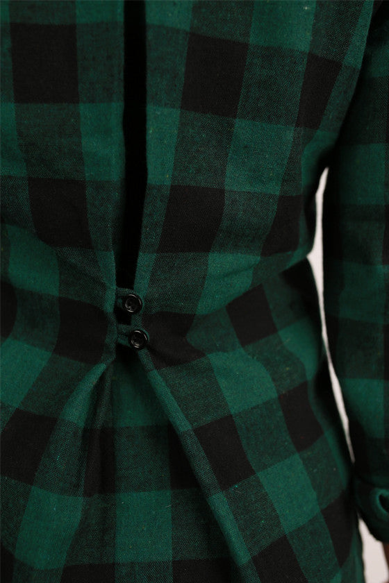 Prep It Up Plaid in Green