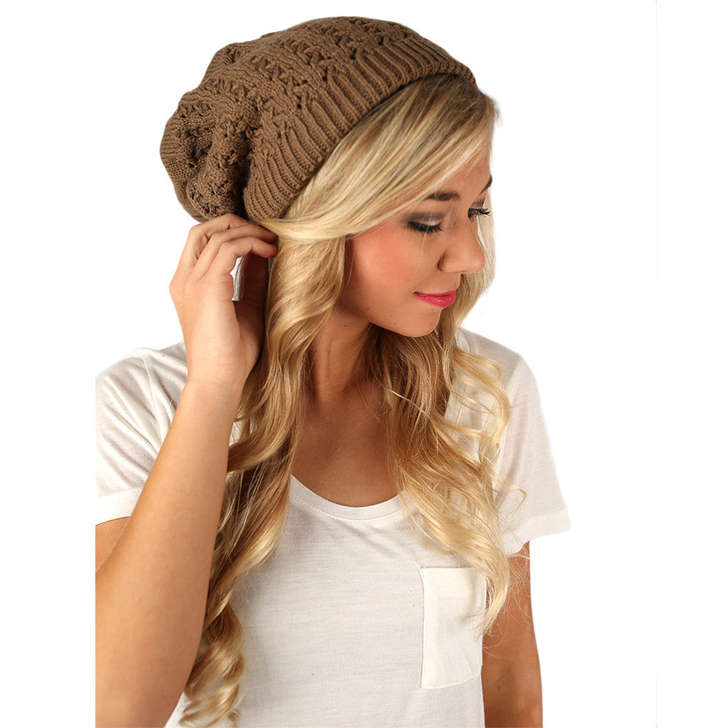 Exception to the Rule Beanie Taupe