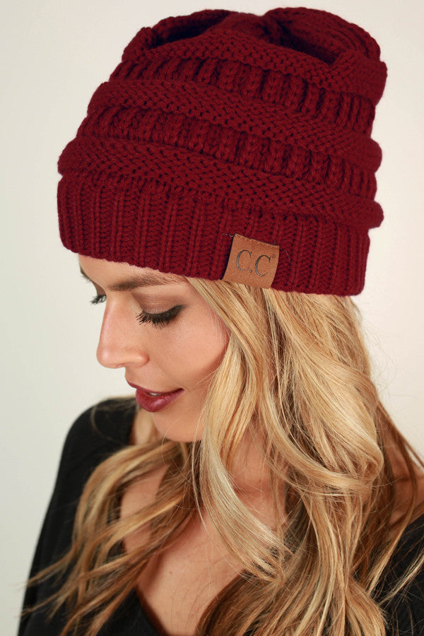 Beanie Beautiful in Red