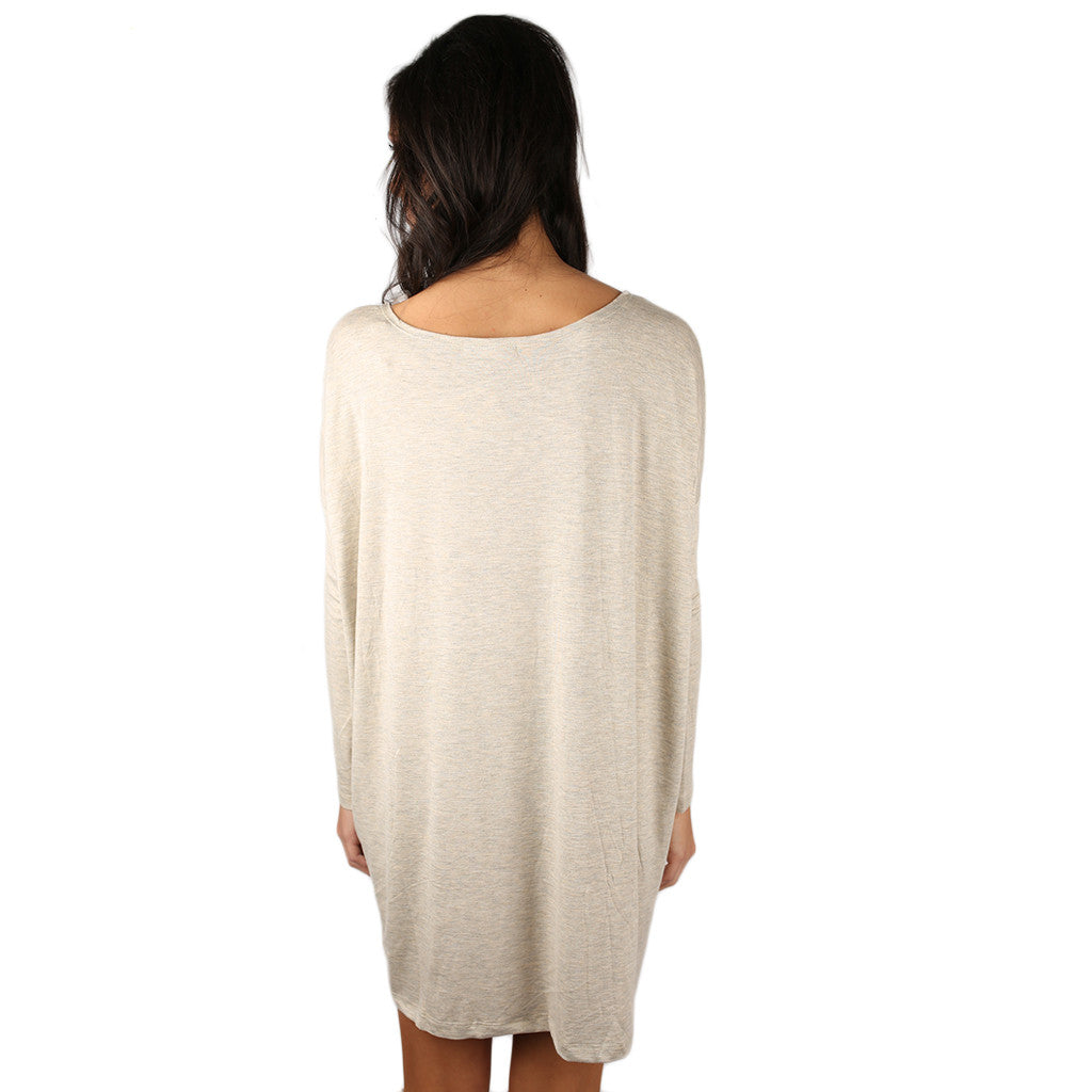 Perfect Little Tunic in Oatmeal