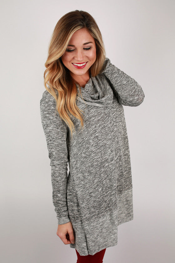 Glamorous Cozy Sweater in Charcoal
