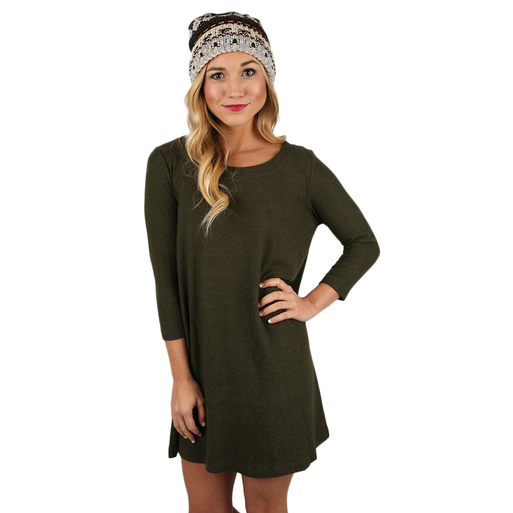 Express Yourself Tunic Olive