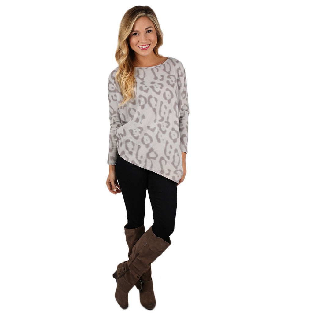 Holidays At The Cabin Sweater Top