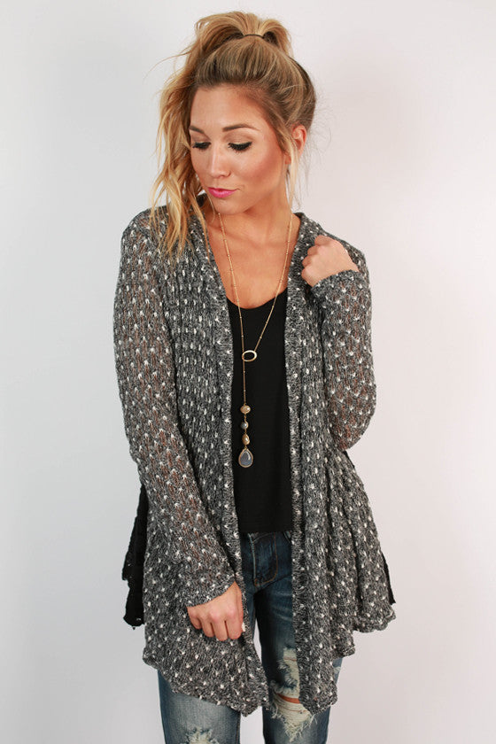 Love for All Lace Cardi