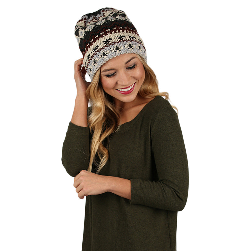 Snow Kiss Beanie Grey