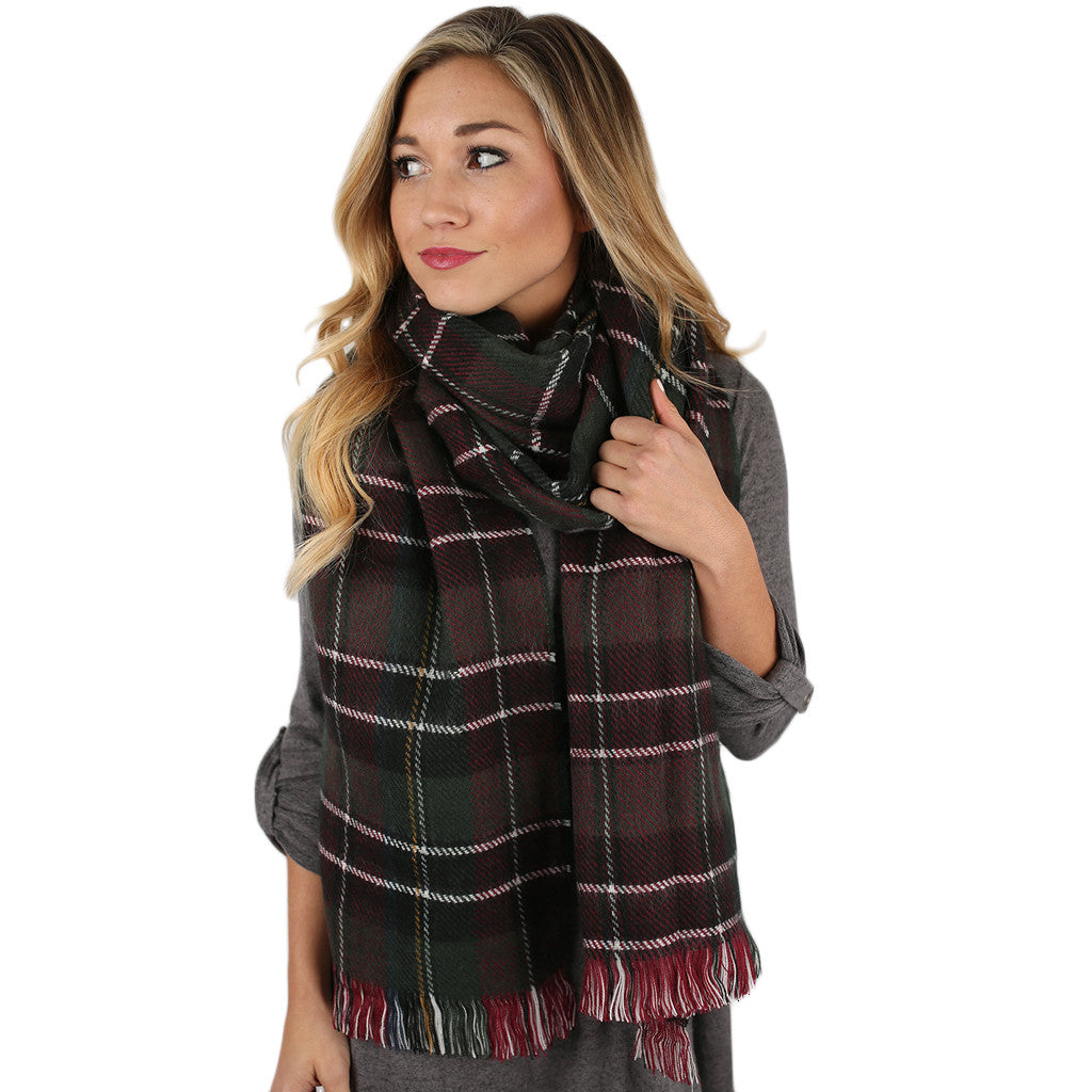 Oh So Cozy Heavy Blanket Scarf