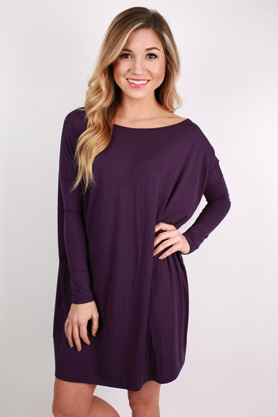 PIKO Tunic in Dark Purple