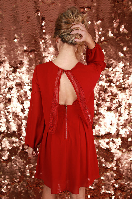 Night at the Symphony Dress in Red