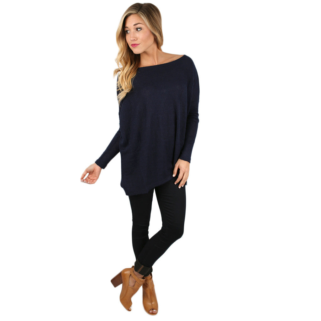 PIKO Sweater in Navy