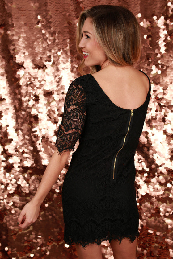Girl Of Your Dreams Dress in Black