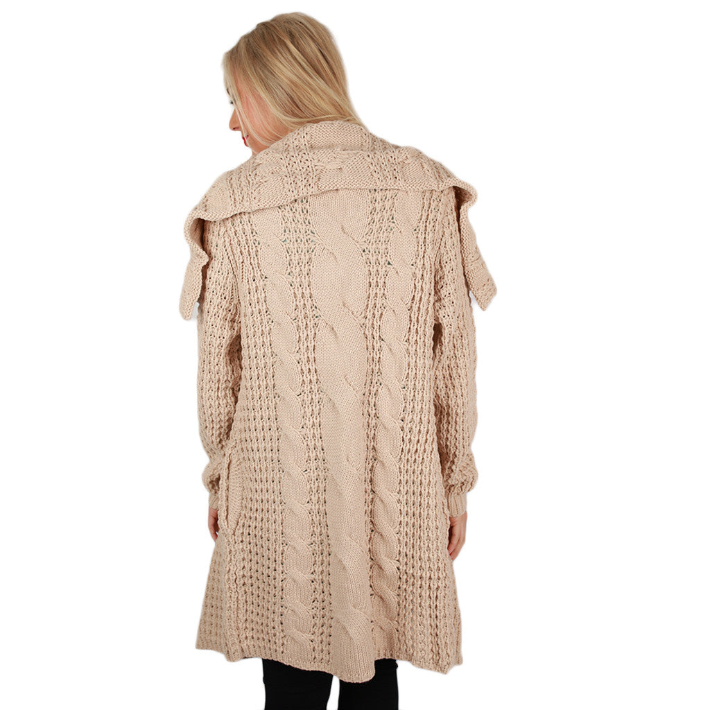 Life in the Natural State Cardi Beige