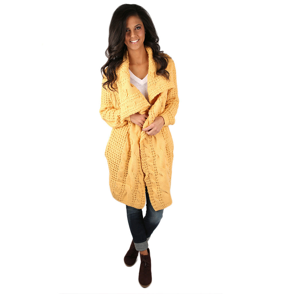 Life in the Natural State Cardi Dandelion