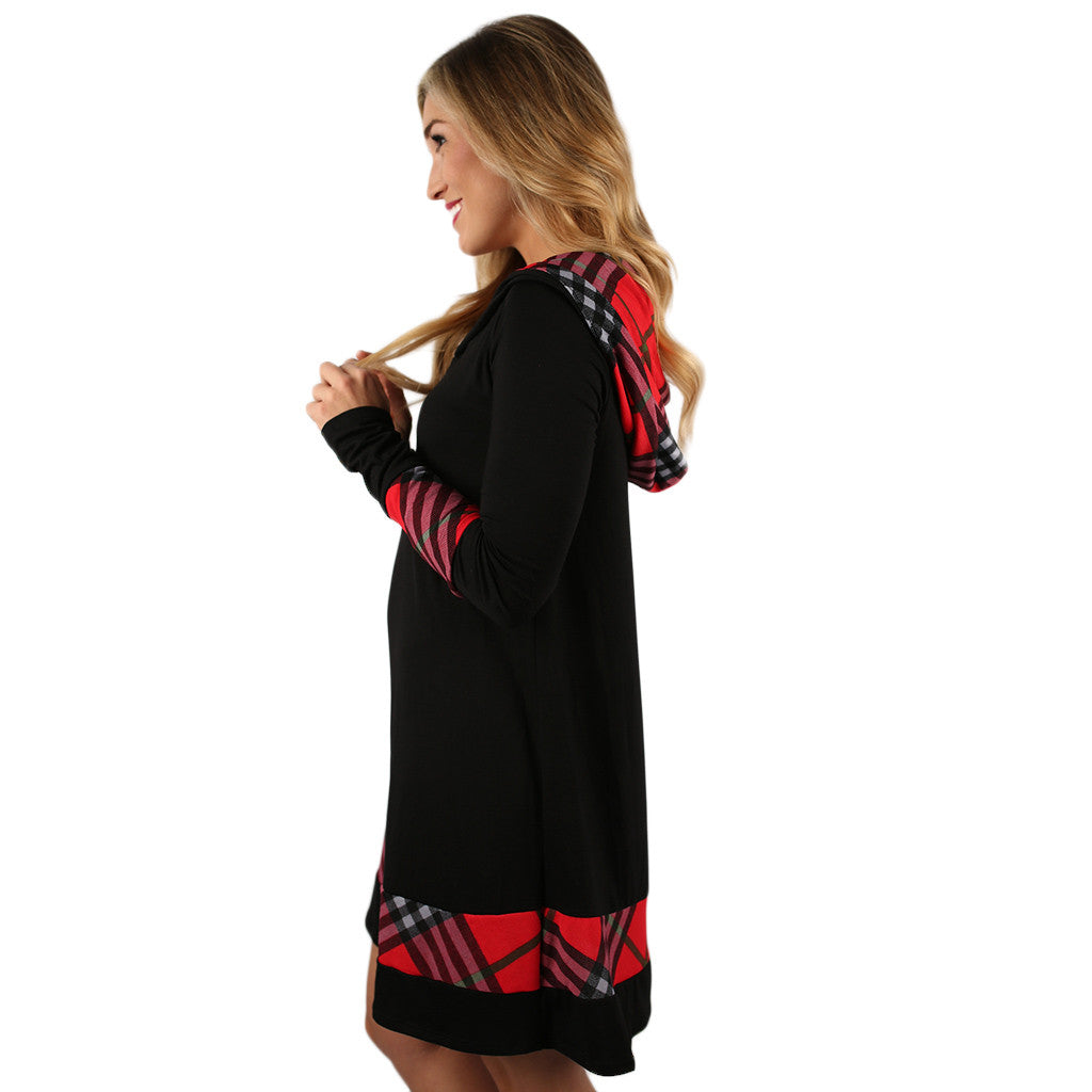 Love In London Tunic in Black