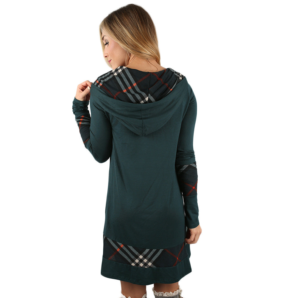 Love In London Tunic in Dark Teal