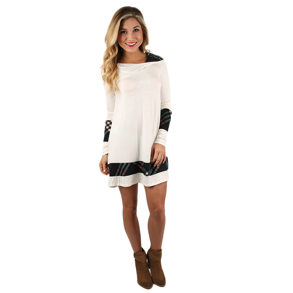 Love In London Tunic in Ivory