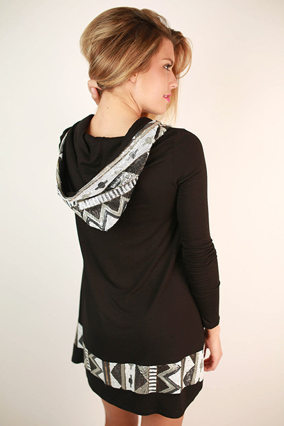 Keep on Sparkling Tunic in Black