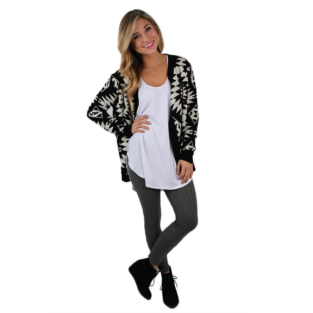 Denver Divine Cardigan in Black
