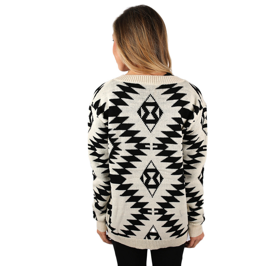 Denver Divine Cardigan in White