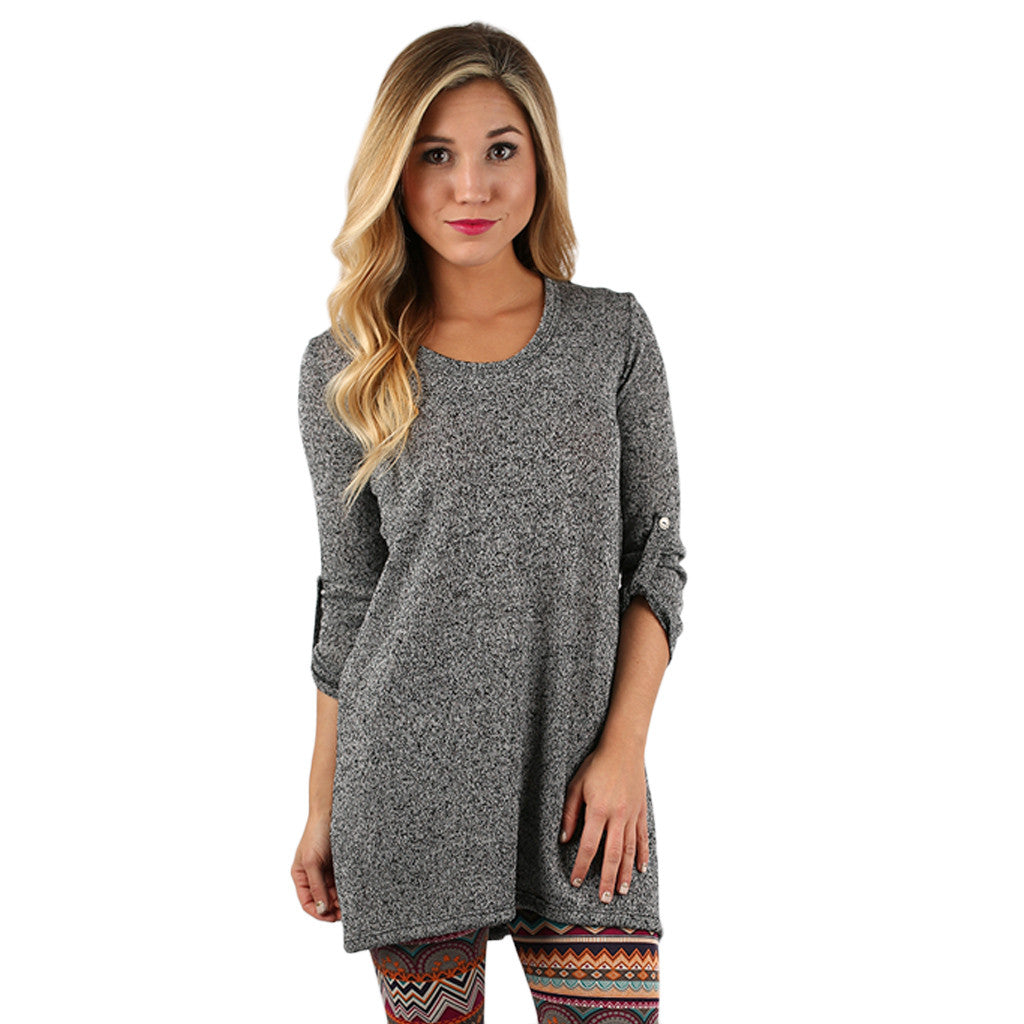 Sweet Traditions Tunic in Pepper
