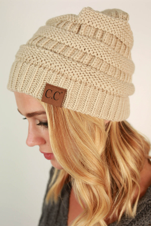 Beanie Beautiful in Beige