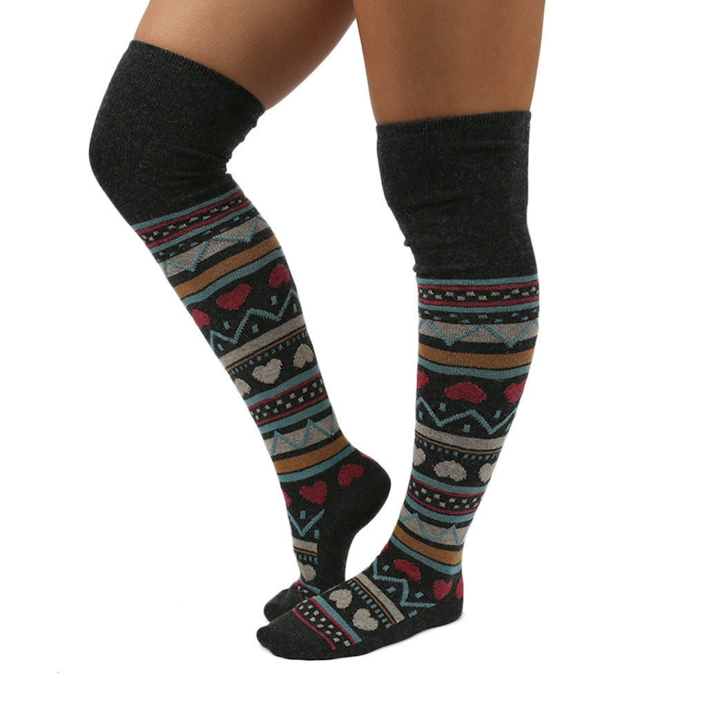 Everlasting Comfort Sock Charcoal