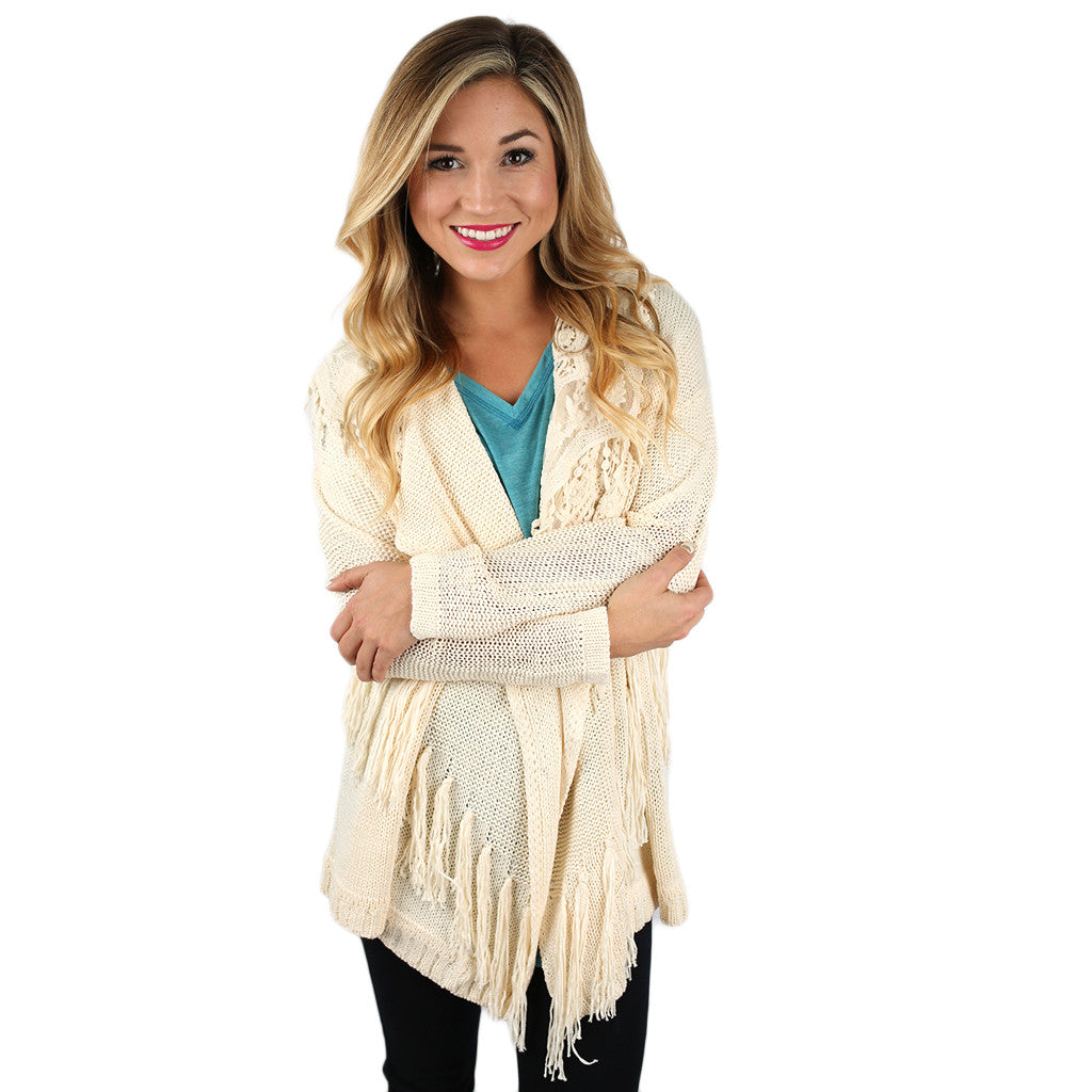 The Finer Things in Life Cardi