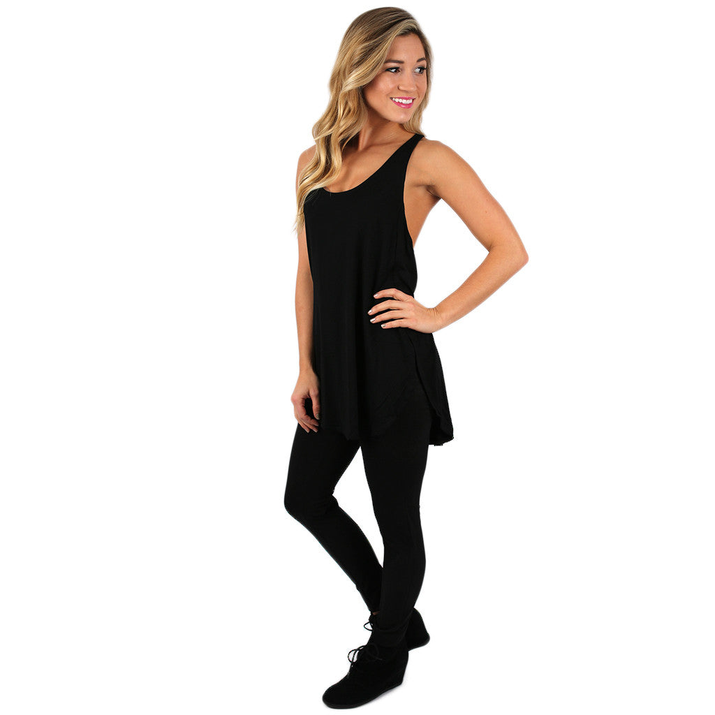 The Perfect Fit Tank Black