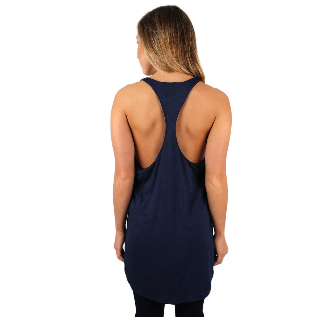 The Perfect Fit Tank Navy