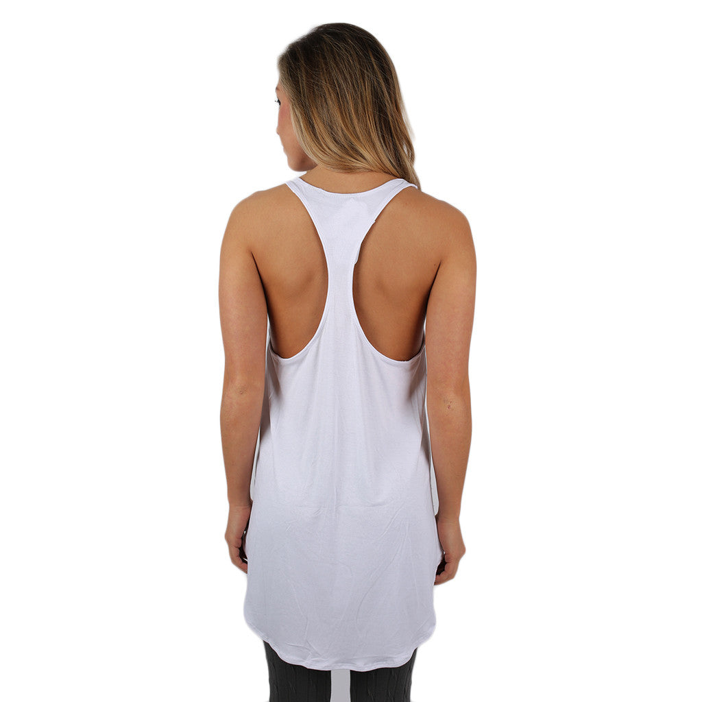 The Perfect Fit Tank White