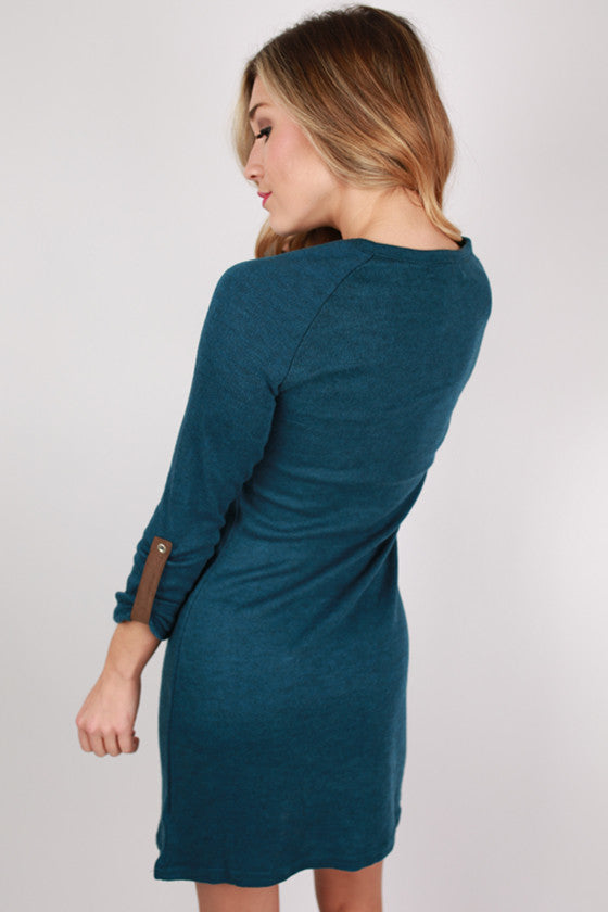 The Heather Dress in Blue