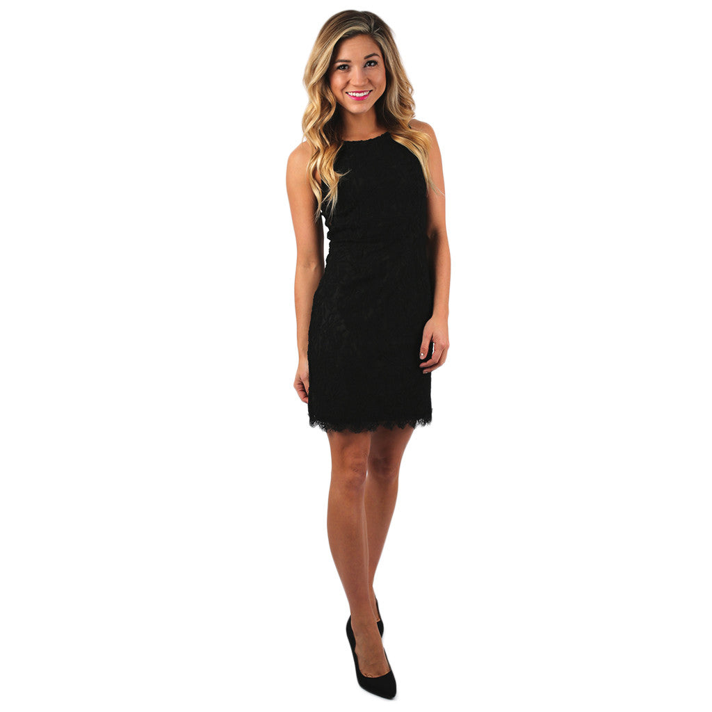 Lacey Keen Dress in Black