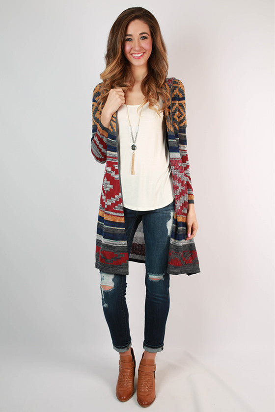 Living in Color Cardigan