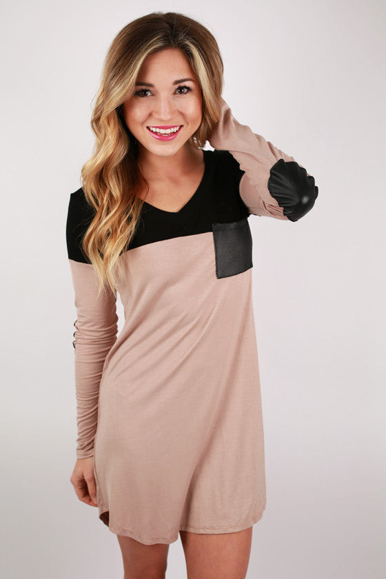 Showing Heart Tunic in Taupe
