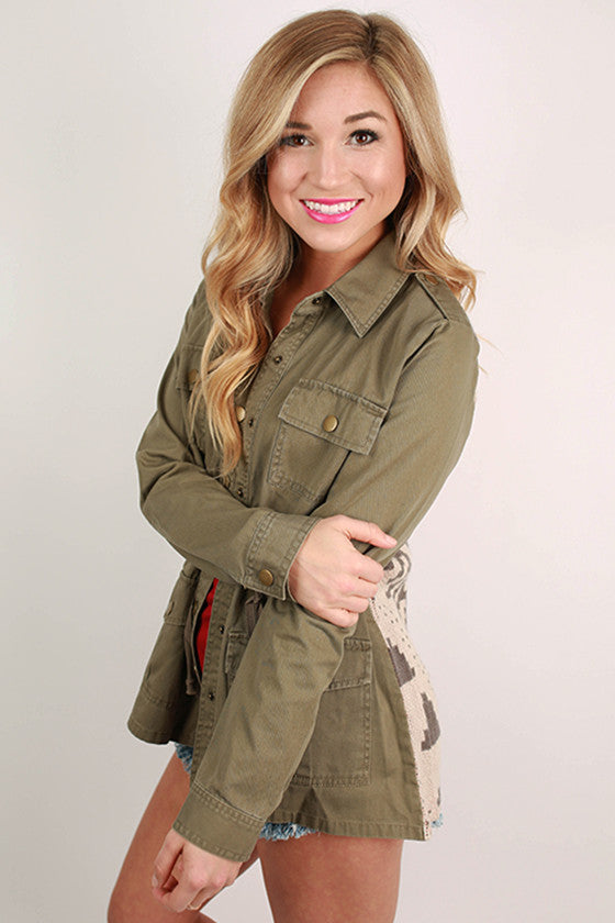 My Best for You Jacket Olive