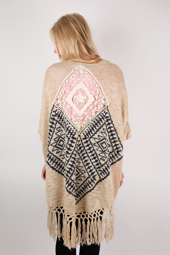 Bonfire Season Cardigan