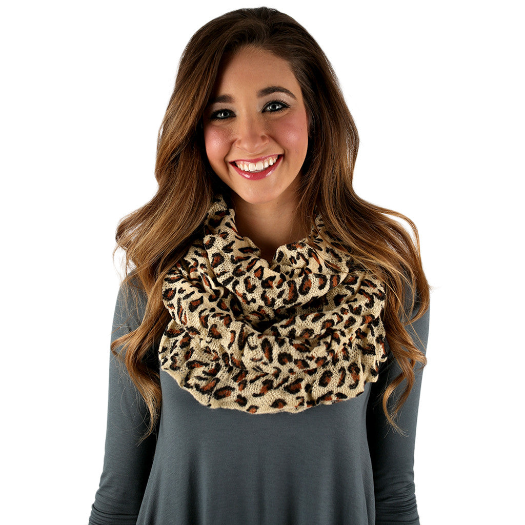 Hot Cocoa Nights Infinity Scarf Cream