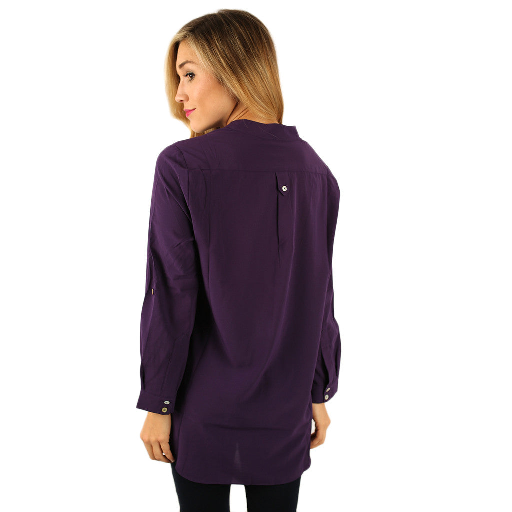 Get The Hint Top in Purple
