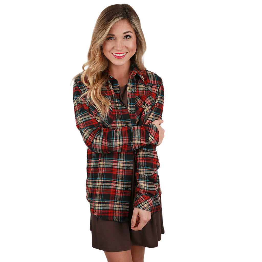 Cozy Comfort Unisex Flannel in Multi