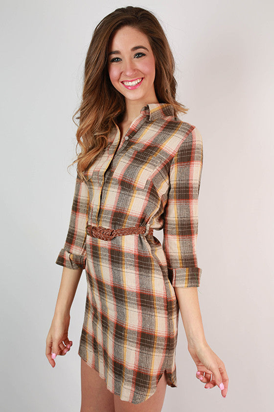 Super Snuggly Flannel Dress